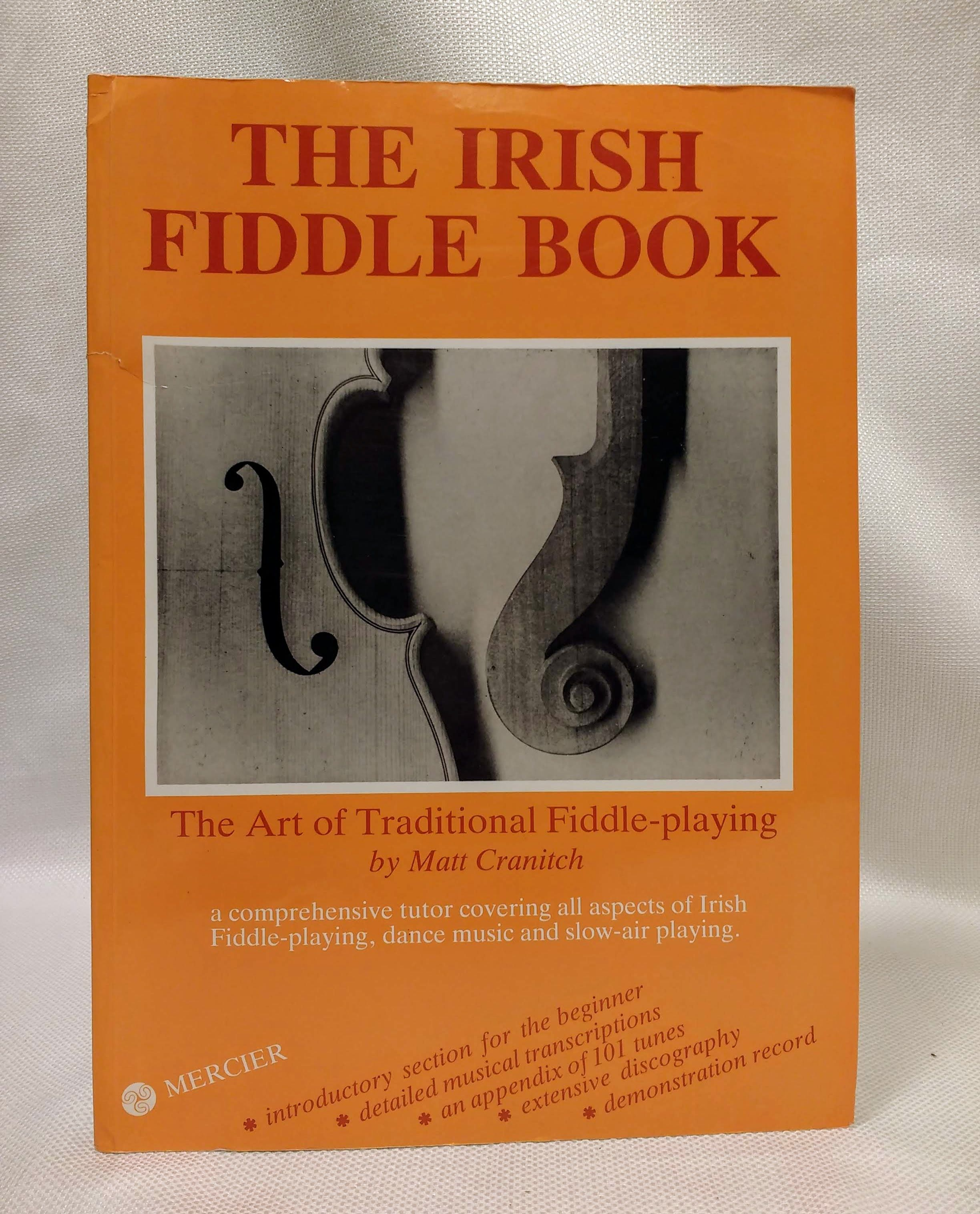 Image for The Irish Fiddle Book: The Art of Traditional Fiddle-Playing