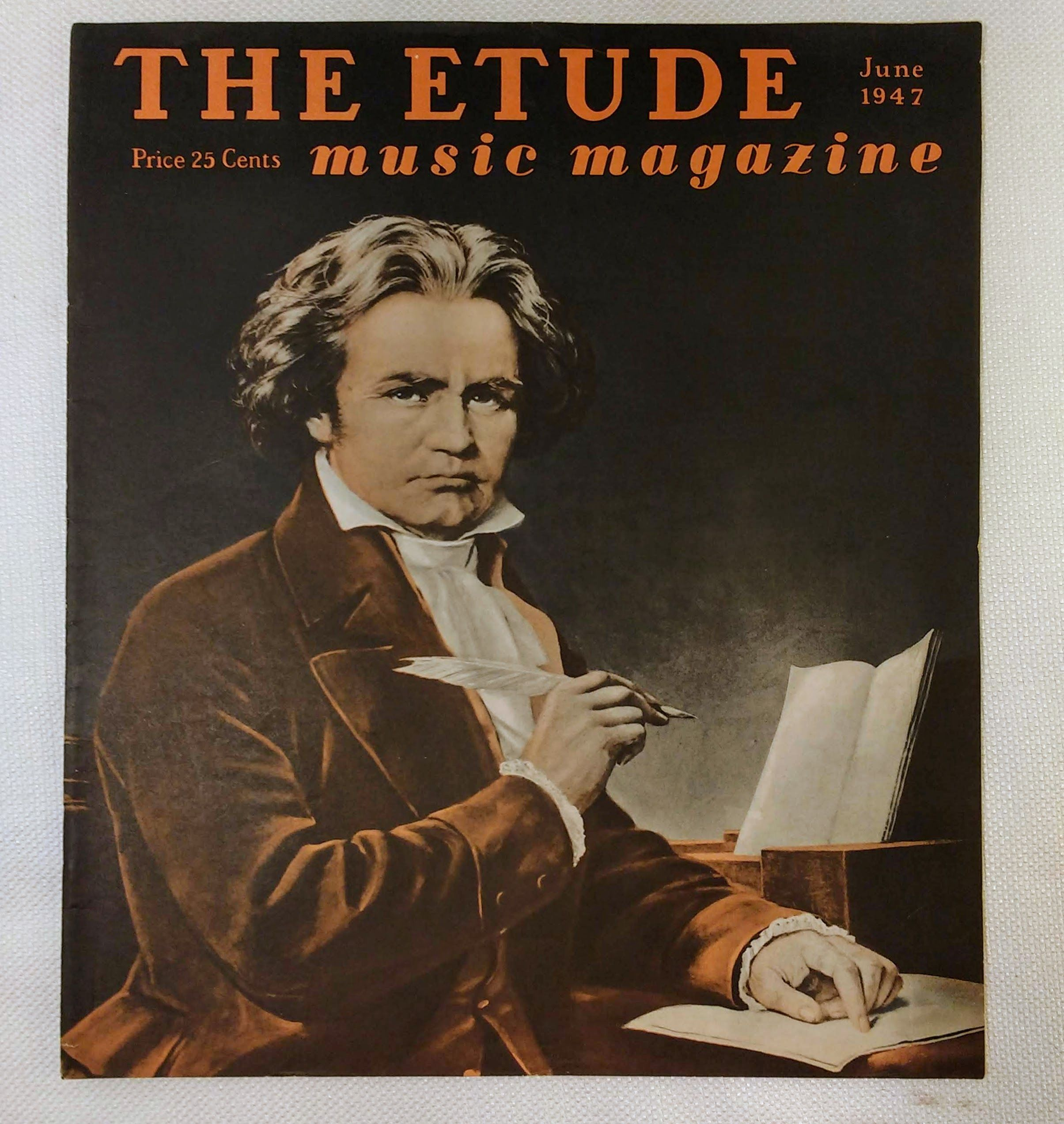Image for The Etude Music Magazine: Volume LXV, No. 6; June, 1947