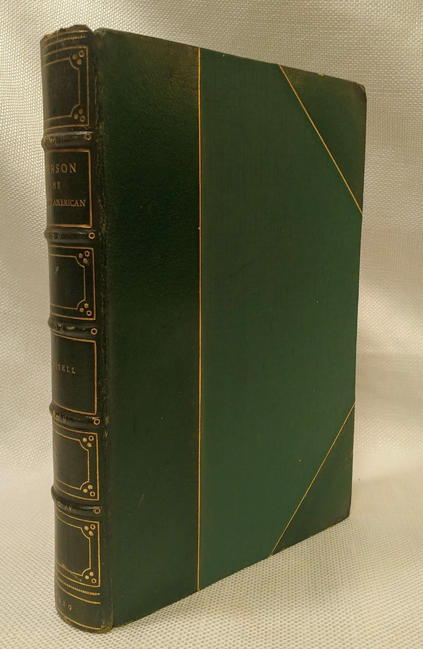 Image for Emerson The Wisest American [Fine binding]