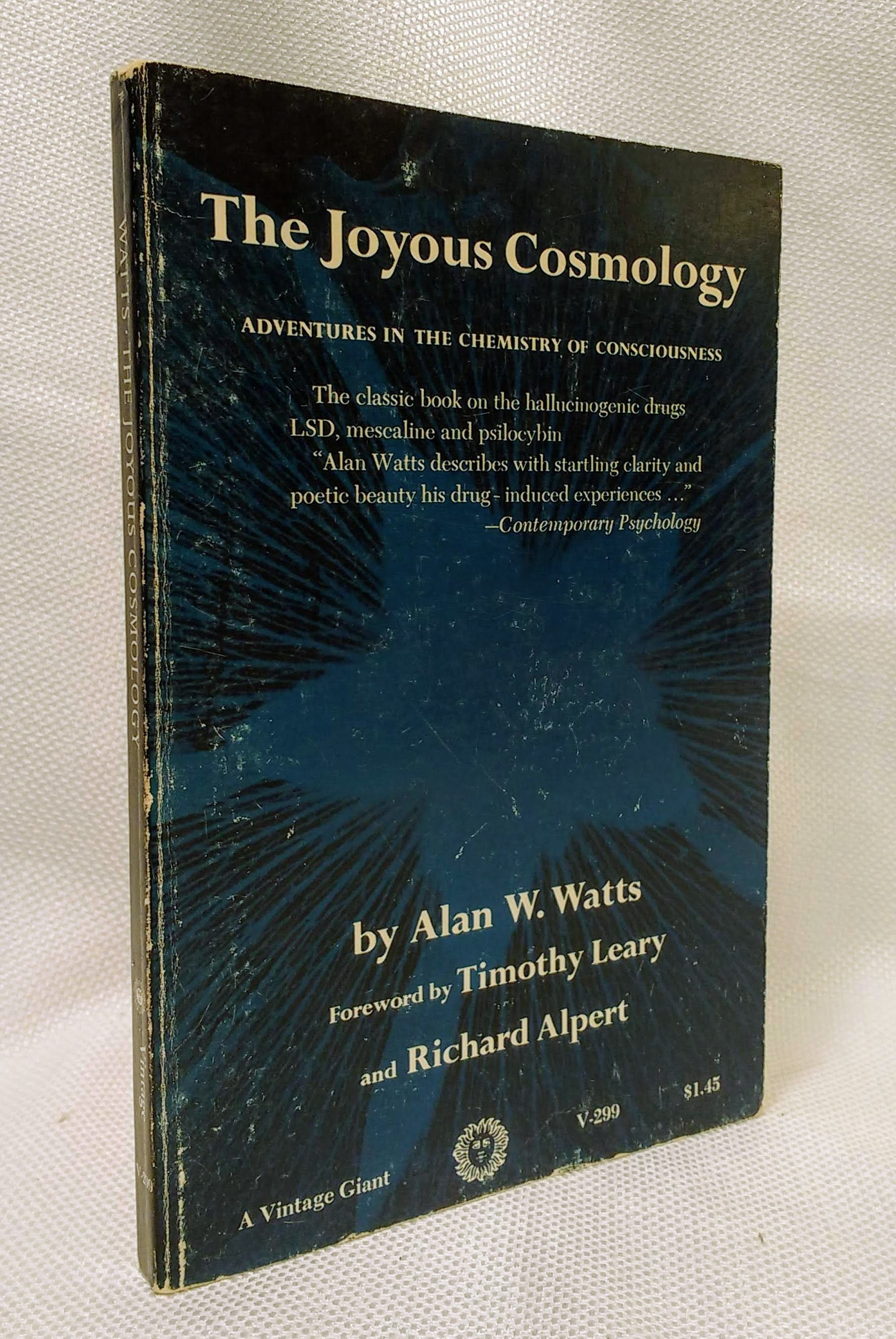 Image for The Joyous Cosmology: Adventures in the Chemistry of Consciousness